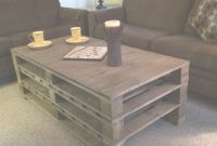Cool Diy Pallet Coffee Table Plans pertaining to Pallet Coffee Table Plans