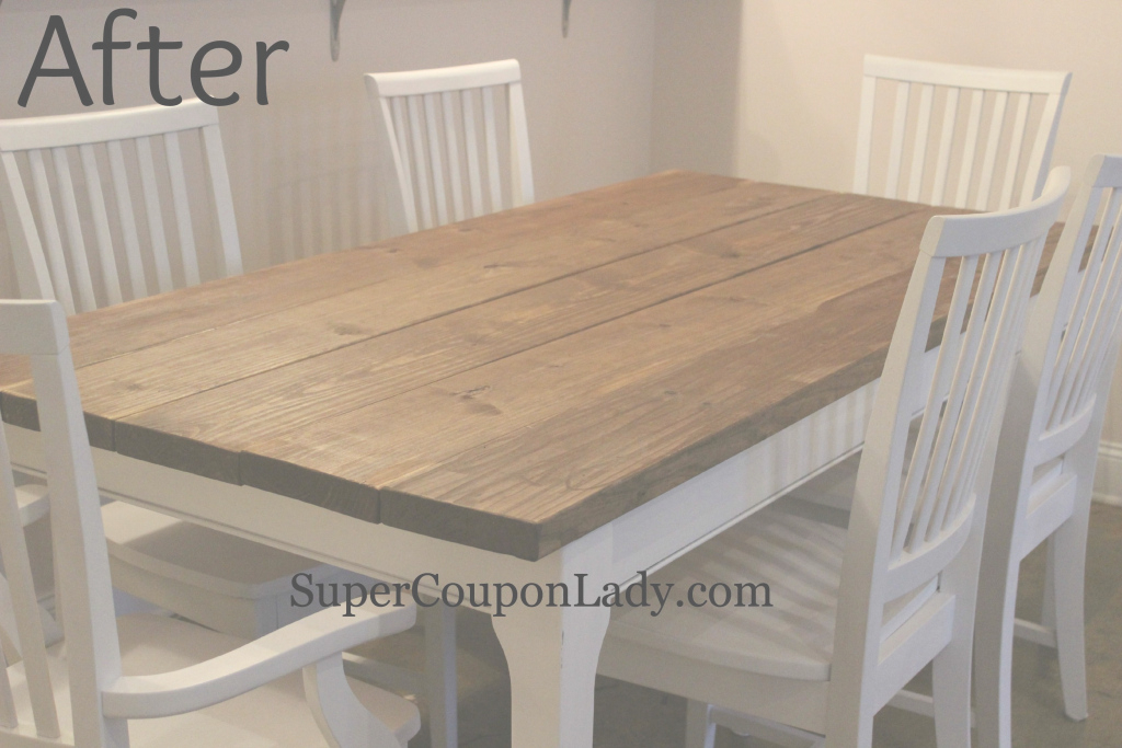 Cool Diy Project: Refinishing Dining Room Table & Chairs | Pinterest within How To Refinish A Dining Room Table