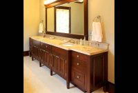 Cool Double Sink Bathroom Vanity | Bathroom Double Sink Vanity – Youtube with regard to Bathroom Double Sink Cabinets