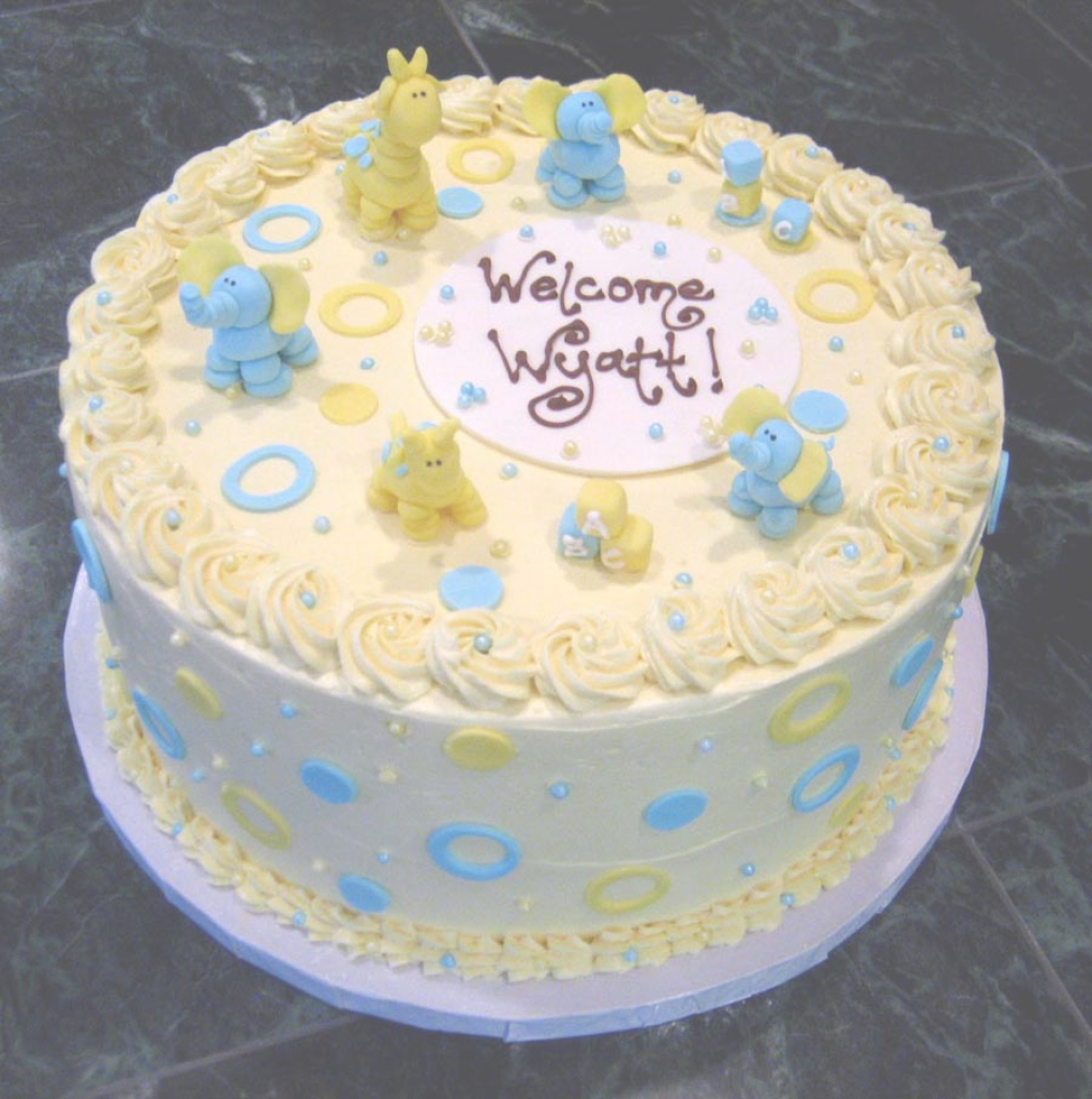 Cool Download Make A Baby Shower Cake | Sangsterward in How To Make A Baby Shower Cake