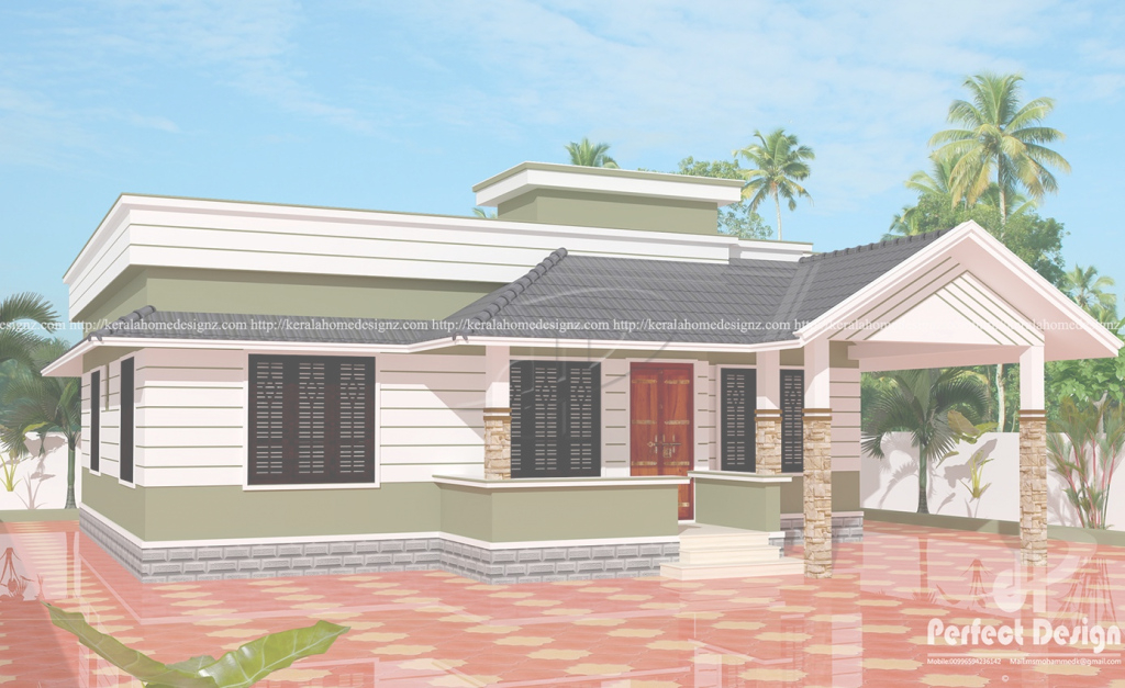 Cool ₹12 Lakhs Cost Estimated Kerala Style House – Kerala Home Design throughout Best of Kerala Style House Plans With Cost