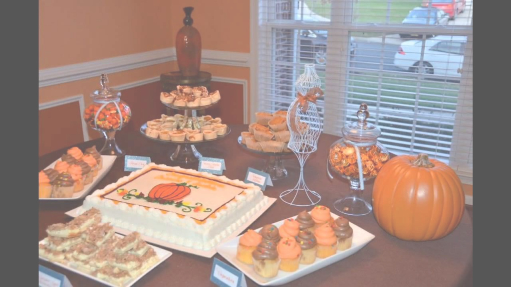 Cool Easy Fall Baby Shower Decorating Ideas - Youtube intended for Fall Baby Shower