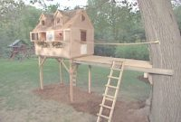 Cool Easy Treehouse Designs Basic Plans Free Diy Construction Tree House within Easy Treehouse Plans Free