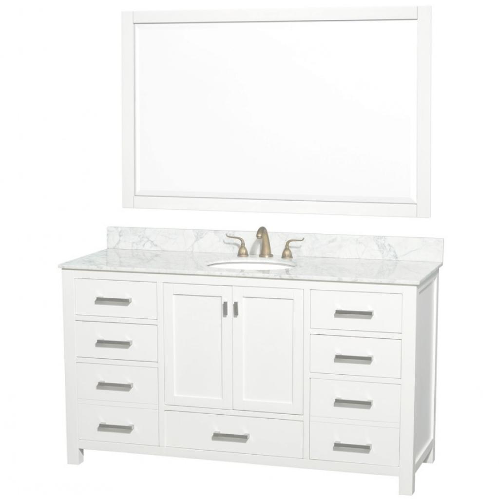 Cool Endearing 60 Inch Single Vanity 22 | Onlyhereonlynow pertaining to Luxury 60 Inch Single Sink Bathroom Vanity