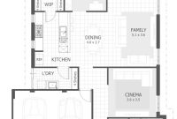 Cool Fancy 3 Bedroom House Plan 25 Simple Small Plans | Tingsmombooks for Small Three Bedroom House Plans