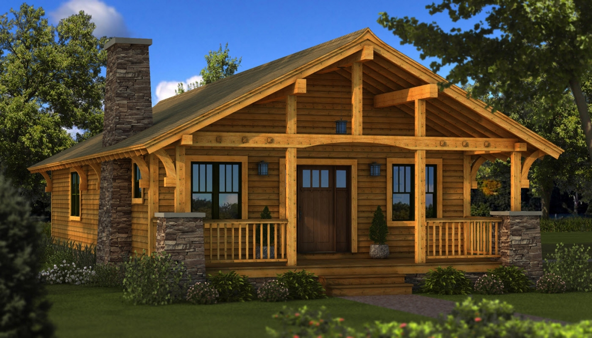 Cool Featured Floorplan: The Bungalow | Southland Log Homes with regard to Best of Bungalow Homes