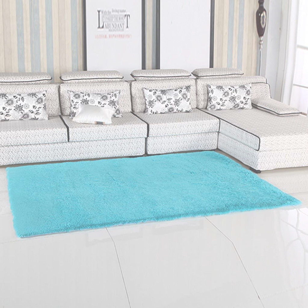Cool Fluffy Rugs Anti Skiding Shaggy Area Rug Dining Rooms Carpet Floor regarding Soft Area Rugs For Living Room