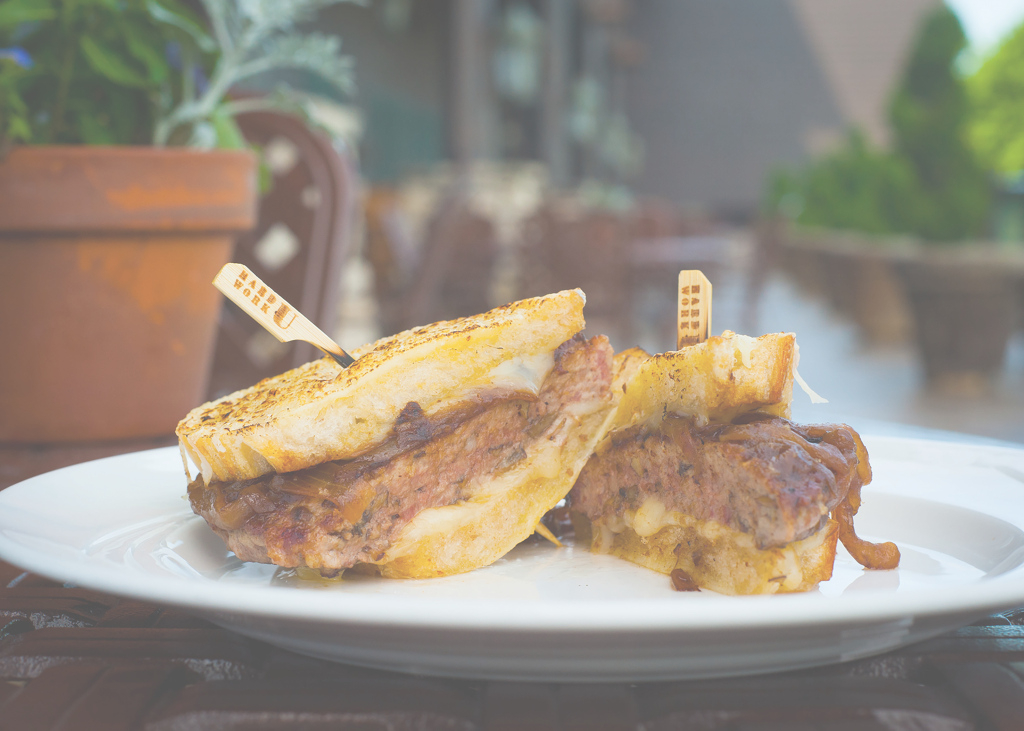 Cool French Onion Grilled Cheeseburger (College Of The Ozarks Competition intended for Inspirational Dobyns Dining Room