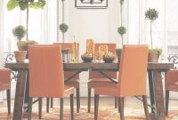 Cool Furniture: Minimalist Image Of Dining Room Decoration Using Small with Awesome Orange Dining Room