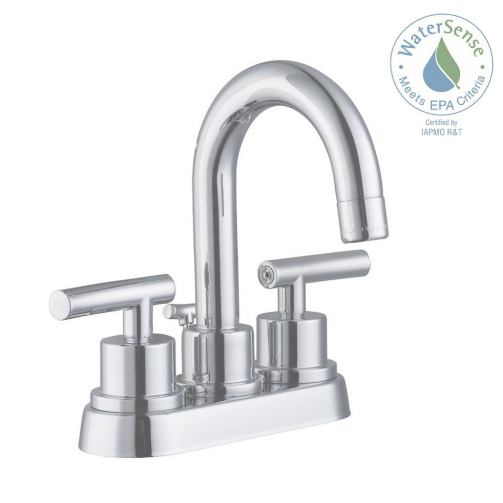 Cool Glacier Bay Dorset 4 In. Centerset 2-Handle Bathroom Faucet In throughout Awesome Faucet Home Depot Bathroom