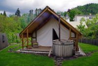 Cool Glamping In Slovenia At Garden Village Bled – The Aussie Flashpacker regarding Garden Village Bled