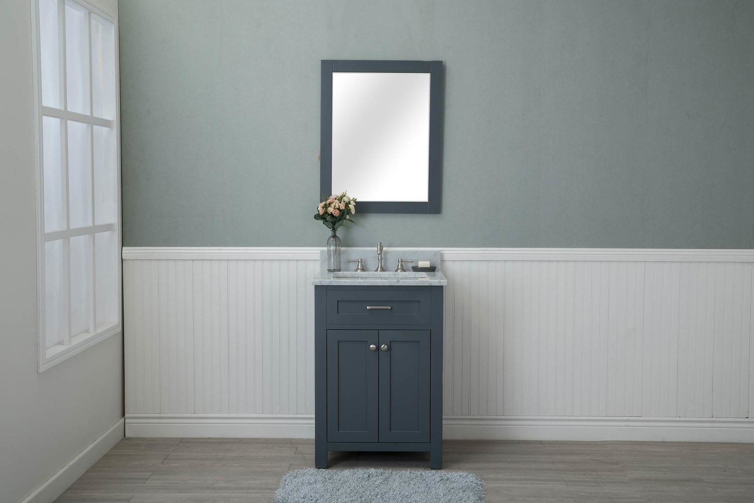 Cool Grey Shaker Bathroom Vanities Assembled inside Best of Shaker Bathroom Cabinets