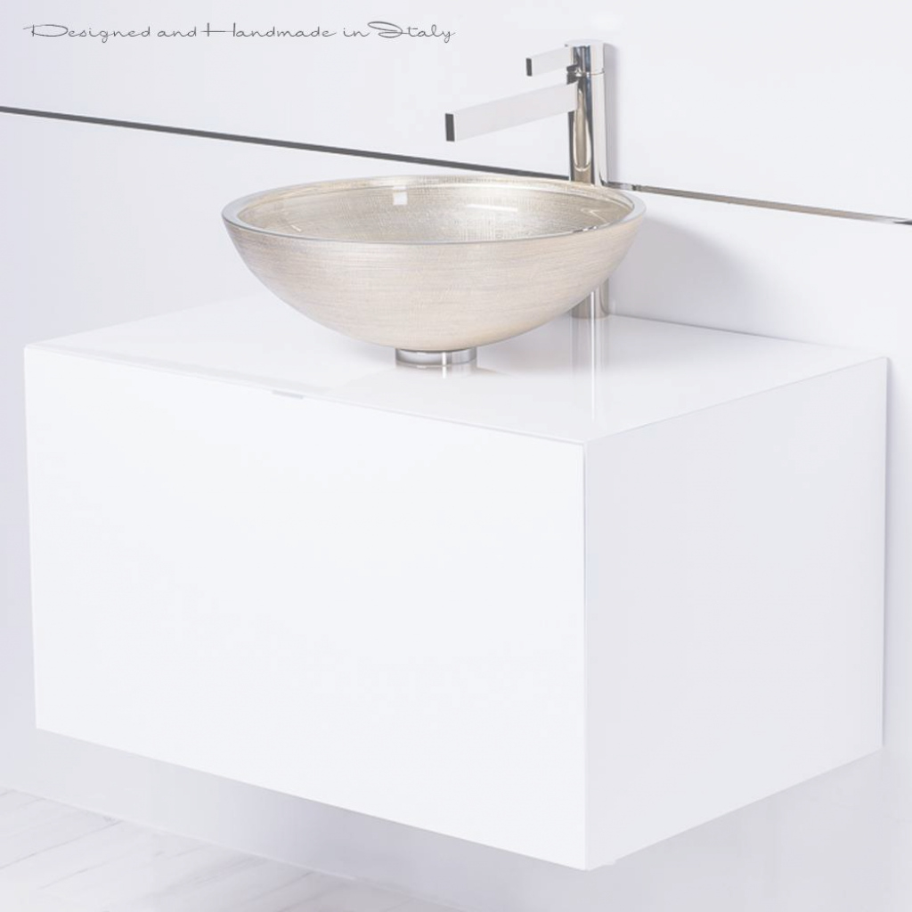 Cool High End 30 Inch White Floating Bathroom Vanity And Vessel Sink Combo in Review Floating Bathroom Sink
