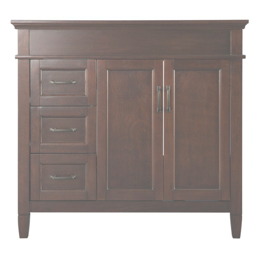 Cool Home Decorators Collection Ashburn 36 In. W Bath Vanity Cabinet Only with regard to Beautiful Bathroom Vanities At Home Depot