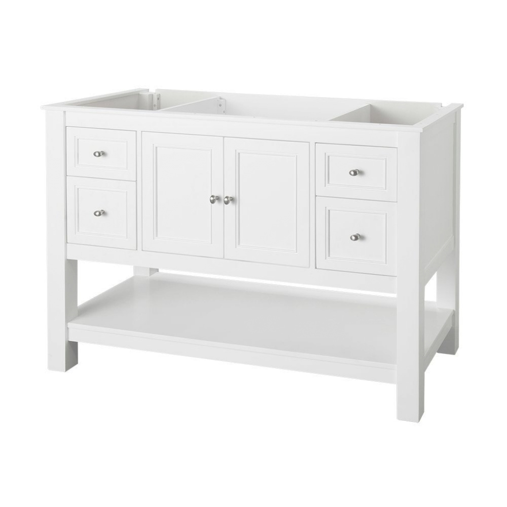 Cool Home Decorators Collection Gazette 48 In. W Bath Vanity Cabinet Only within Unique Home Depot Bathroom Vanities And Cabinets