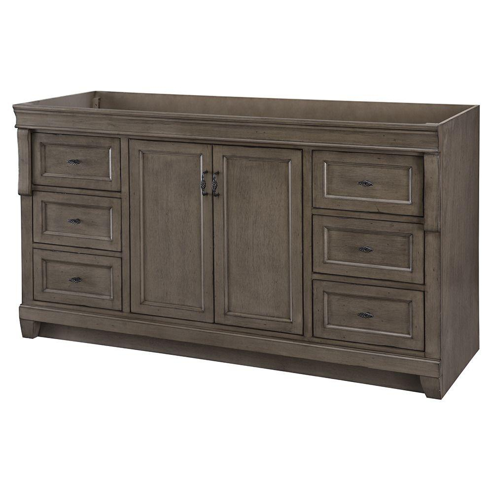 Cool Home Decorators Collection Naples 60 In. W Bath Vanity Cabinet Only in Inspirational Bathroom Vanity No Sink