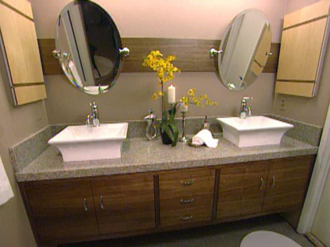 Cool How To Build A Master Bathroom Vanity | Hgtv in High Quality Master Bathroom Vanity