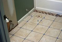 Cool How To Install Bathroom Floor Tile | How-Tos | Diy with Easy To Install Bathroom Flooring