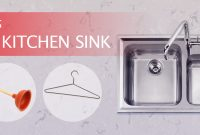 Cool How To Unclog A Sink – A Diy Guide – London Drainage Services within How To Unclog A Double Kitchen Sink