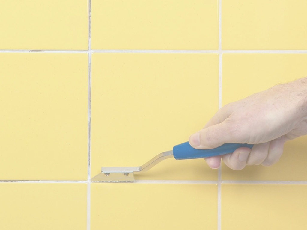 Cool If You Have #floor Tiles In The Bath Or Kitchen, Check The Grout Or with How To Regrout Kitchen Tile