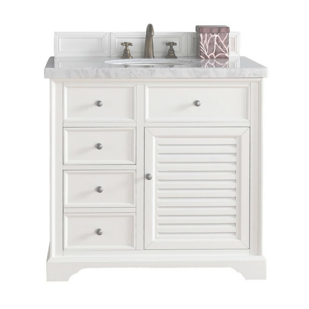 Cool James Martin Signature Vanities Savannah 36 In. W Single Vanity In with regard to Fresh James Martin Bathroom Vanities