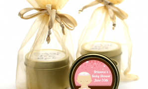Cool Jewish Baby Girl Gold Tin Candle Favors | Candles & Favors throughout Set Jewish Baby Shower