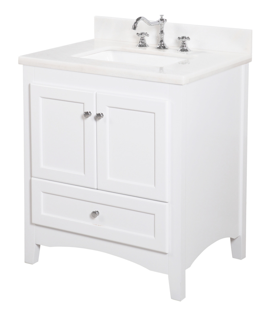 "Cool Kbc Abbey 30"" Single Bathroom Vanity Set & Reviews 