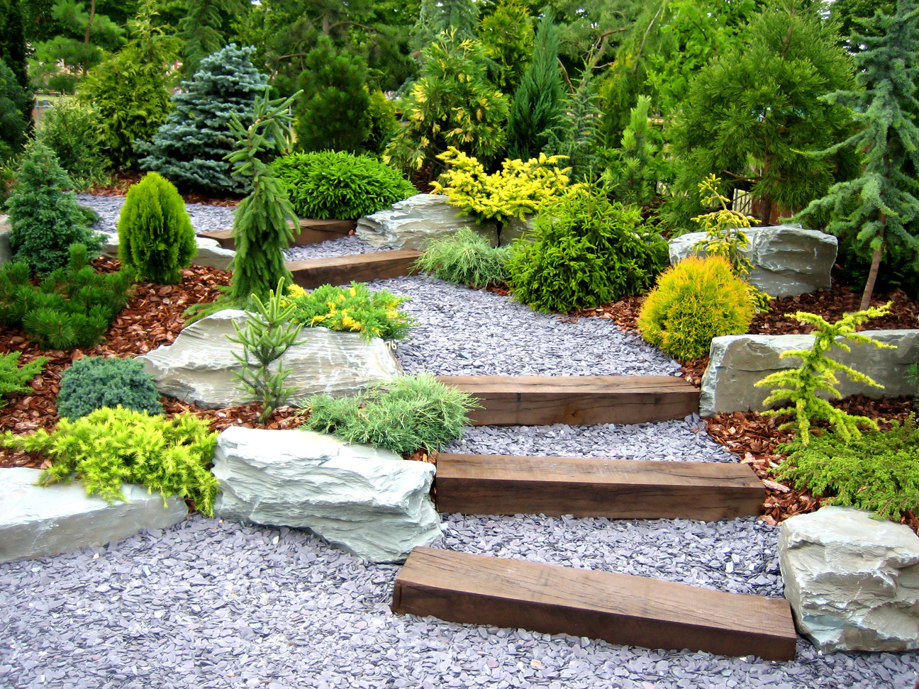 Cool Landscape Design - Garden Works throughout Landscape Design Garden