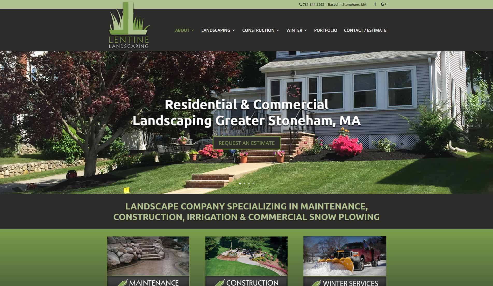 Cool Landscape Website Design - Landscape Web Design Company regarding Landscape Design Company