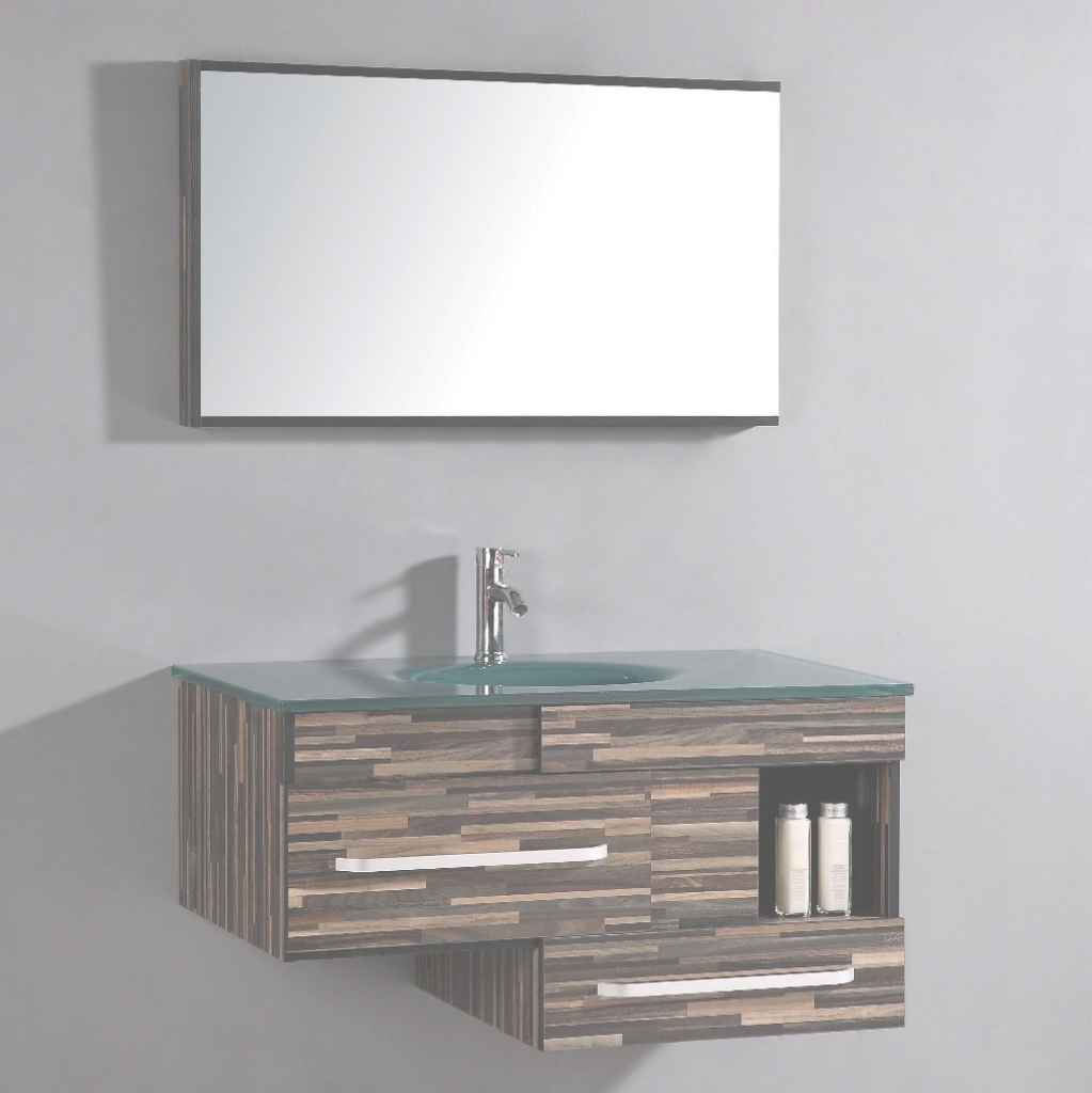 "Cool Legion Furniture 40"" Single Bathroom Vanity Set With Mirror intended for Best of Bathroom Vanity Set With Mirror"