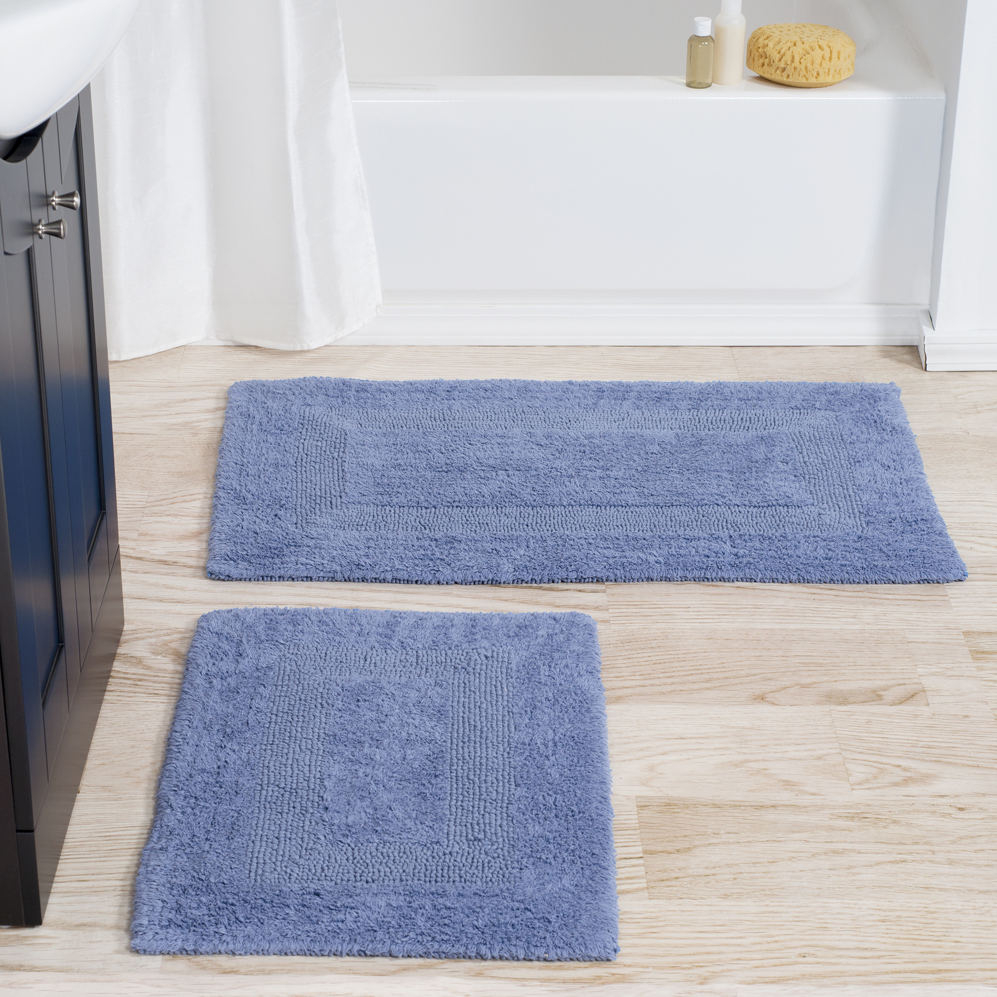 Cool Light Blue Bathroom Rug Sets Lighting Bath Mat Set Cobalt Dark Navy inside Blue Bathroom Rug Sets