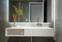 Cool Lighted Wall Mirrors For Bathrooms Awesome Bathroom Mirror 22 pertaining to Illuminated Wall Mirrors For Bathroom
