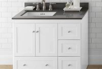Cool Lovely Endearing Shaker Bathroom Cabinets Style Vanities Of Vanity within Best of Shaker Bathroom Cabinets