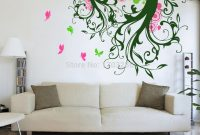 Cool Magic Tree Wall Decal With Butterflies Tree Living Room Tree Vinyl within Living Room Decals