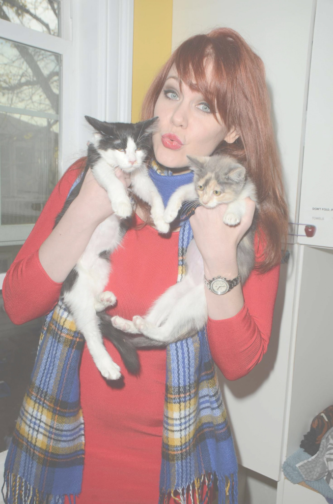 Cool Maitland Ward: Kitty Bungalow Hosts Holiday Soup Kitchen -03 - Gotceleb pertaining to Good quality Kitty Bungalow