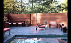 Cool Modern Backyard - Youtube throughout Inspirational Modern Backyard