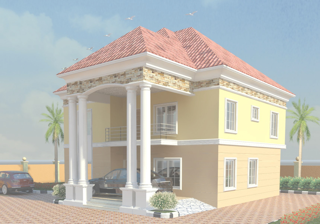 Cool Modern Duplex House Designs In Nigeria — House Style And Plans with regard to Review Nigerian House Plans With Photos