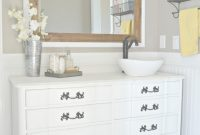Cool Old Dresser Turned Bathroom Vanity Tutorial inside Fresh Dresser Bathroom Vanity