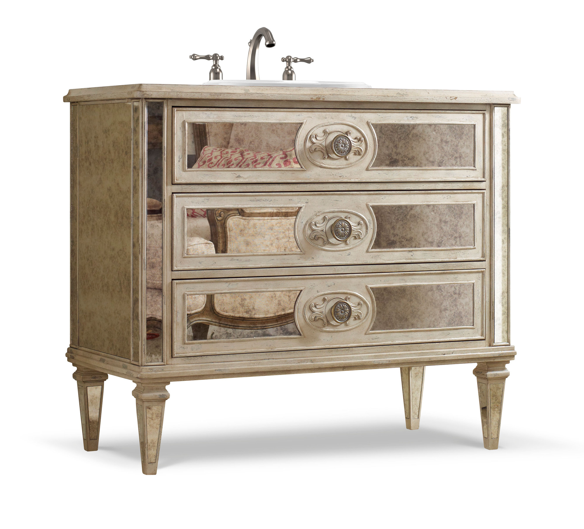 Cool Olivia 42 Inch Chest Bathroom Vanitycole & Co. Designer Series with Lovely 42 In Bathroom Vanity