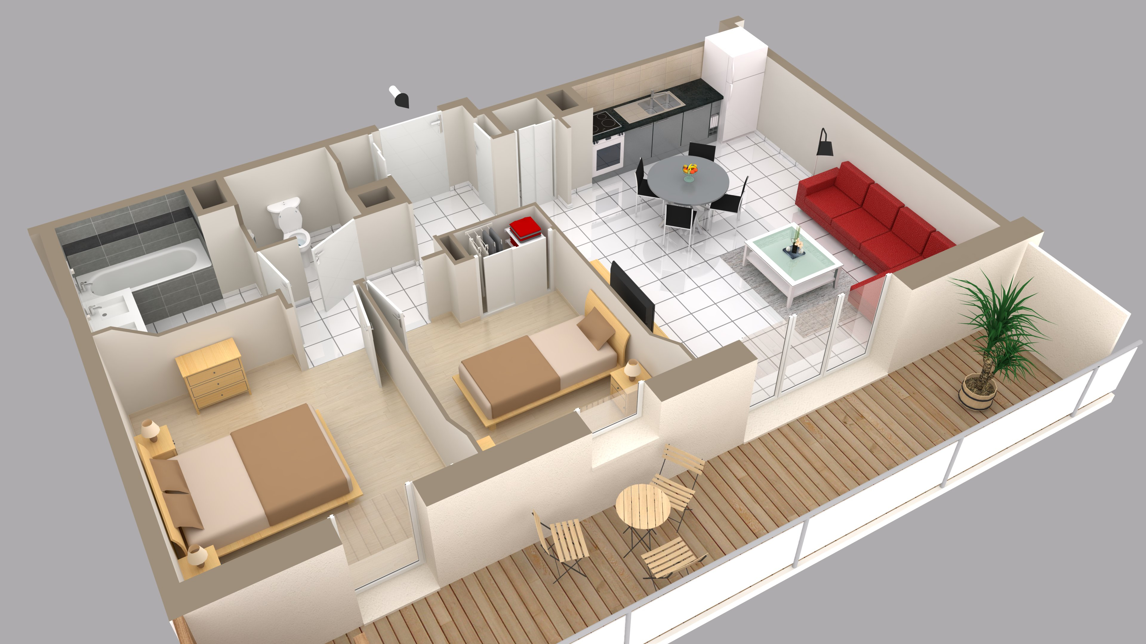 Cool Plan Int Rieur Maison 3d Plan Natir O Plan Maison Pinterest
