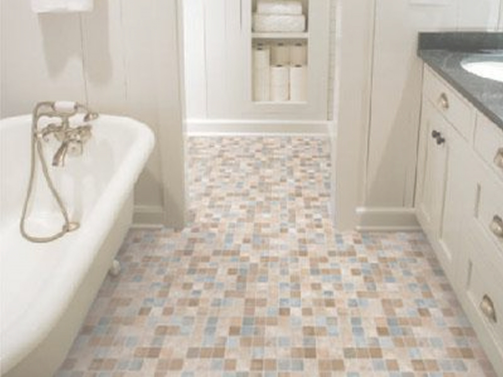 Cool Popular Of Bathroom Tile Floor Ideas For Small Bathrooms With for Lovely Bathroom Tile Flooring