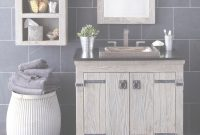 Cool Reclaimed Wood Bathroom Vanity Amazing Popular Top Best Intended For in Weathered Wood Bathroom Vanity