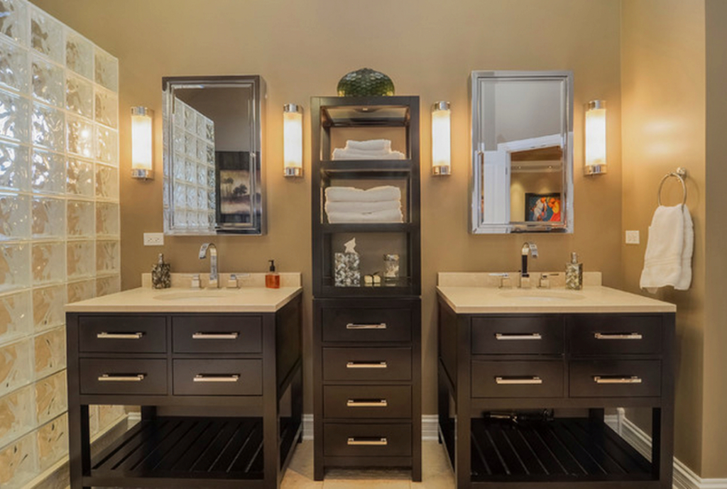 Cool Restoration Hardware Hutton Washstand - Copycatchic pertaining to Good quality Restoration Hardware Bathroom Cabinets