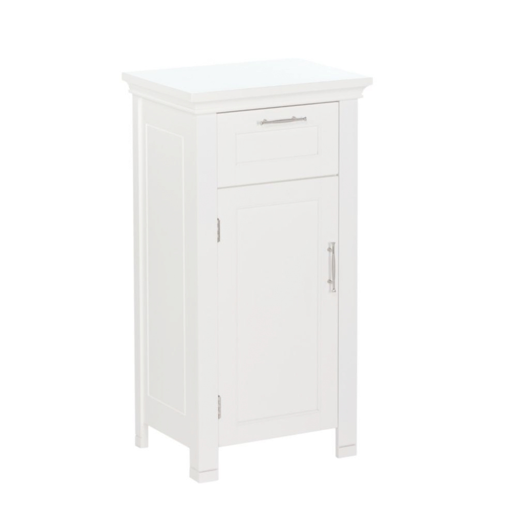 Cool Riverridge Home Somerset Collection 16 In. W X 30 In. H X 12 In. D inside Best of Bathroom Floor Cabinet White