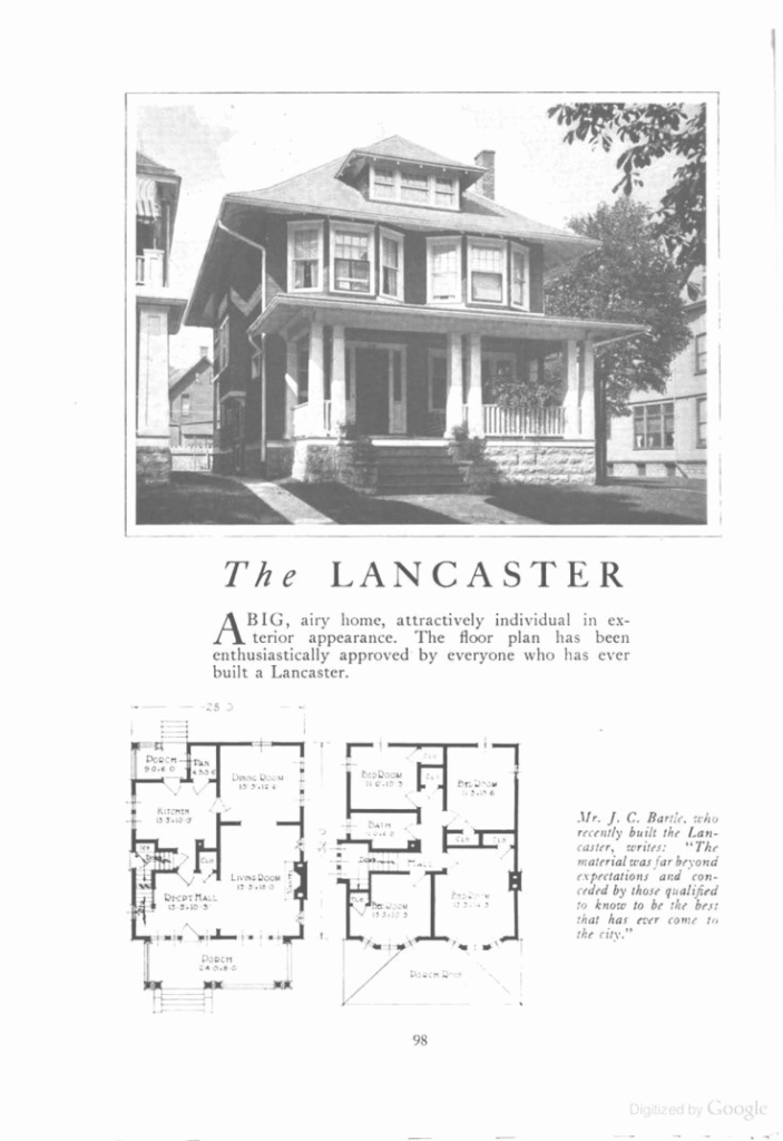 Cool Selected American Foursquare House Plans Four Square Awesome I intended for Good quality American Foursquare Floor Plans Images