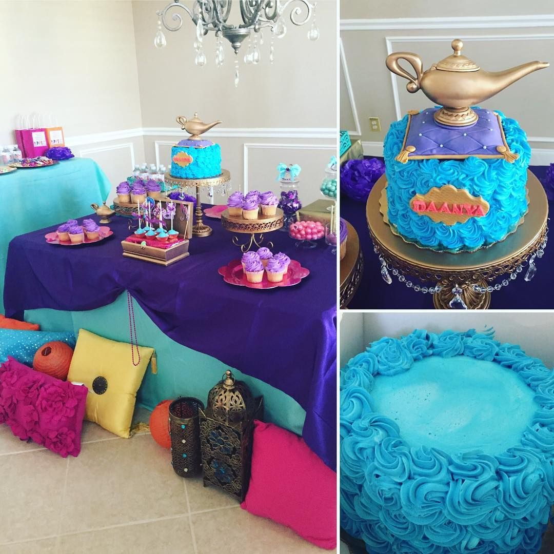 Cool Shimmer Shine Dessert Table With @publix Cake Decorated With regarding Baby Shower Cakes Publix