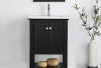 "Cool Shop Fresca Manchester 24"" Black Traditional Bathroom Vanity – Free pertaining to Awesome Traditional Bathroom Vanity"