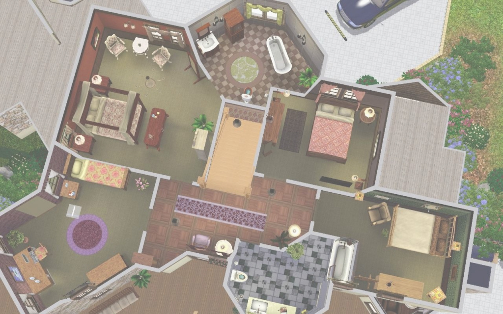 Cool Sims 2 Floor Plans Beautiful Mod The Sims Ashland Manor Modern Mock regarding Good quality Sims 2 Floor Plans