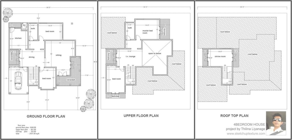 Cool Sketchup Floor Plan To House Plans Download Google Tutorial intended for Lovely Google Sketchup House Plans Download Image