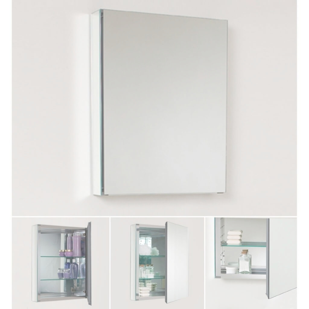 Cool Small Bathroom Mirrors Cabinet : Doherty House - Chic Small Bathroom intended for Bathroom Mirror Cabinet